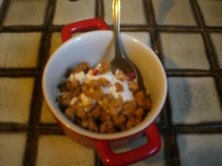 Crock Pot Yogurt - yogurt with toppings