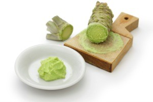 wasabi horseradish and paste