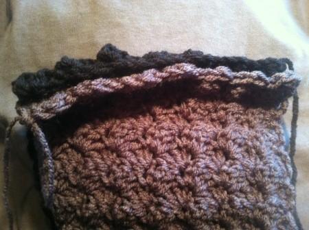 Textured Half Shell Cowl