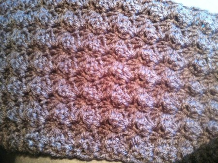 Textured Half Shell Cowl