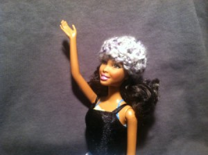 Barbie's Snowbunny Hat