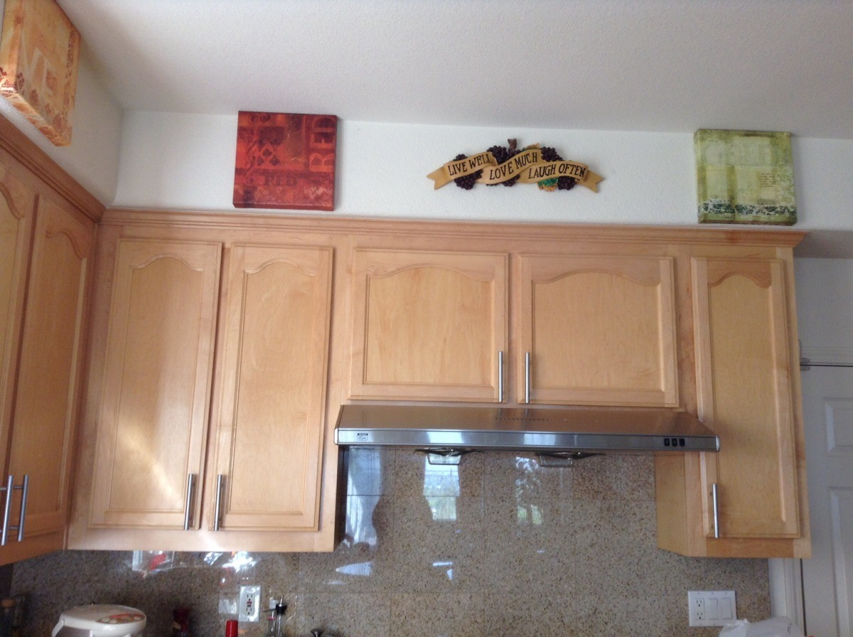 Paint Color Advice for Kitchen With Maple Cabinets ...