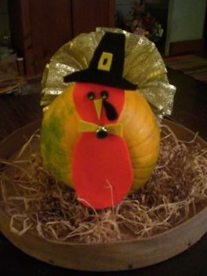 closeup of finished turkey