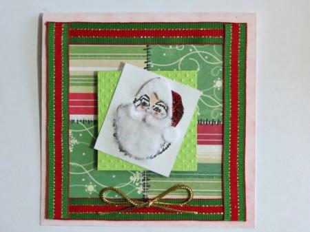 adding Father Christmas block