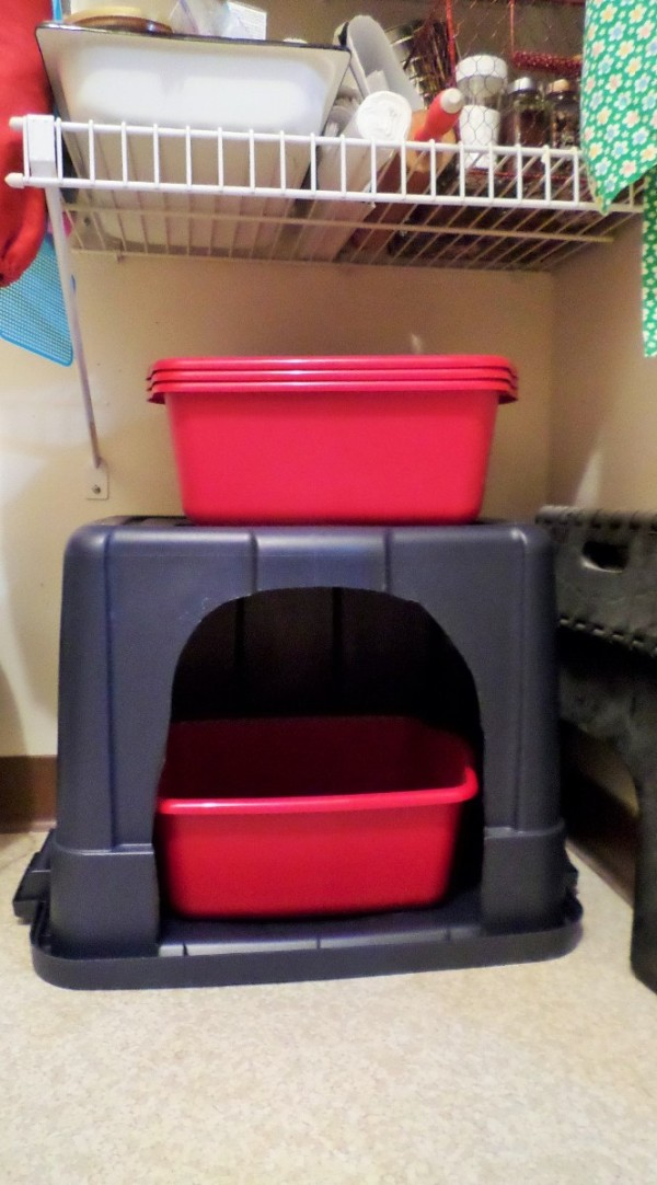 Rubbermaid Bin To Cover Litter Box