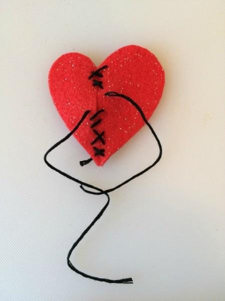 make sewn heart 1