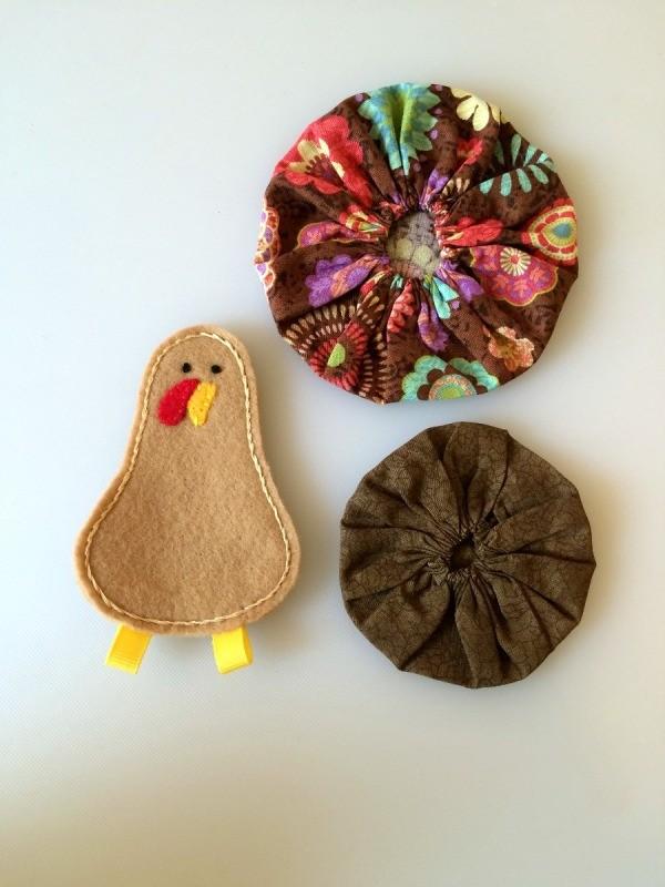 Fabric Yo Yo Turkey Thriftyfun