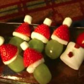 Christmas Grinch Fruit Snacks