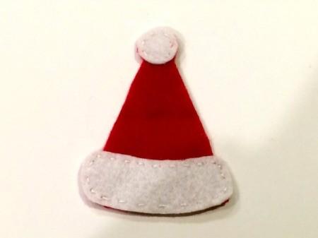 Felt Santa Hat Ornament