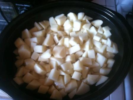 Easy Crockpot Mashed Potatoes