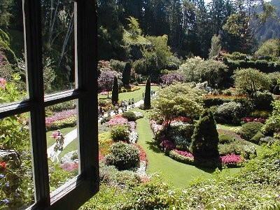 A photo of Beautiful Butchart Gardens