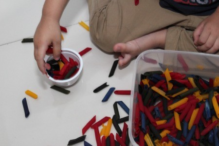 playing and sorting