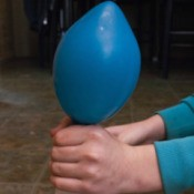 Blowing up a Balloon with Baking Soda and Vinegar