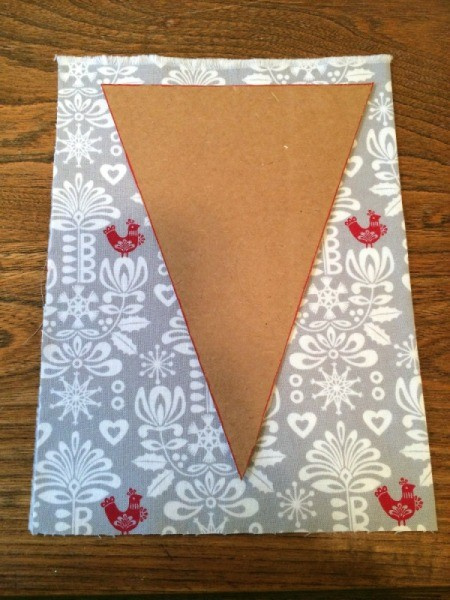 trace pennant template