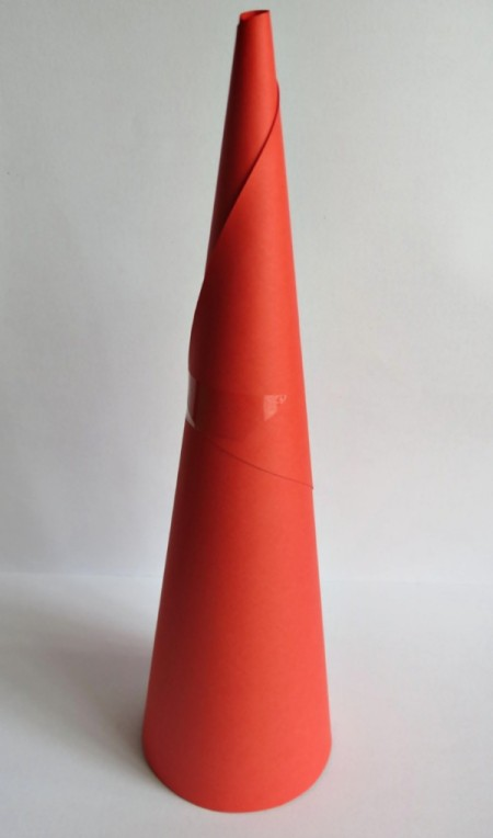 finished cone