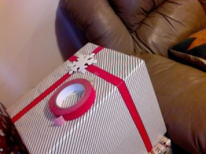 Colored Tape Instead of Ribbons