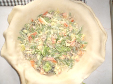 Easy Meatless Quiche