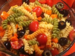 Low Fat Italian Pasta Salad