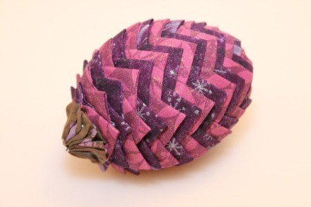 Fabric Pinecone Decorations