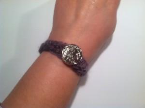 Crochet Button Showcase Bracelet