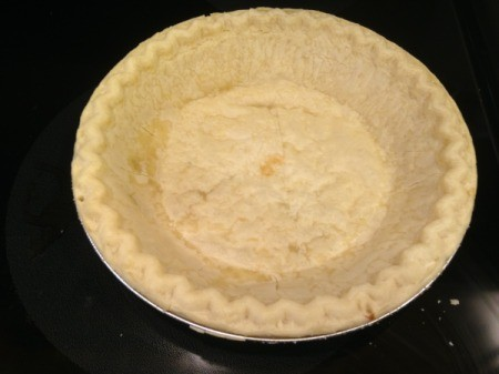 Southern Pecan Pie - partially baked shell