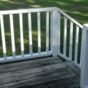 clean railing