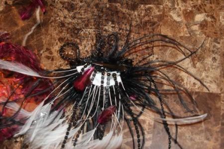 glue on decorative feathers