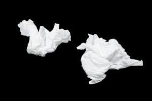 Kleenex wads