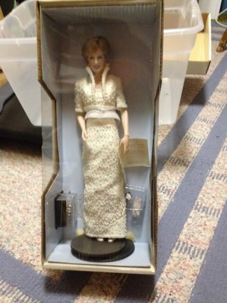 Princess Diana doll in box.
