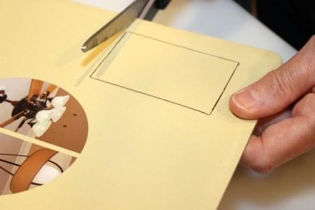 cut out cardboard