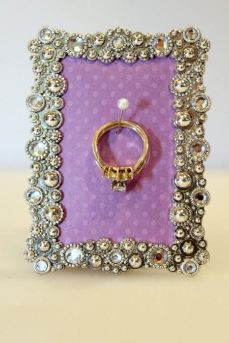 ring on ring holder