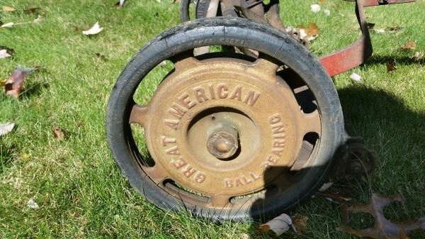 manufacturer cast on wheel