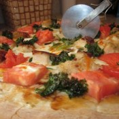 Full o' Veggies Homemade Pizza