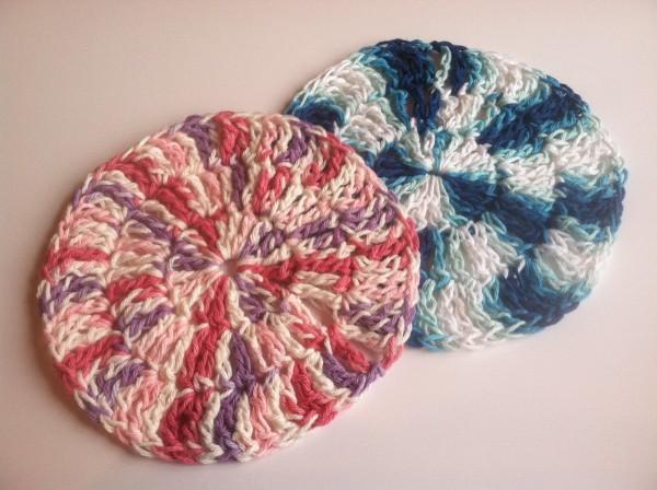 Making A Round Crocheted Dishcloth Thriftyfun