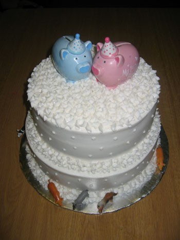 Wedding Cake for Pigs