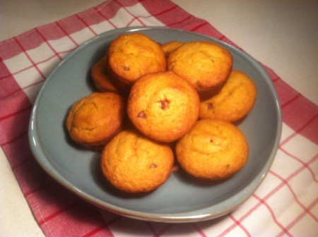 Prize Winning Pumpkin Chip Muffins