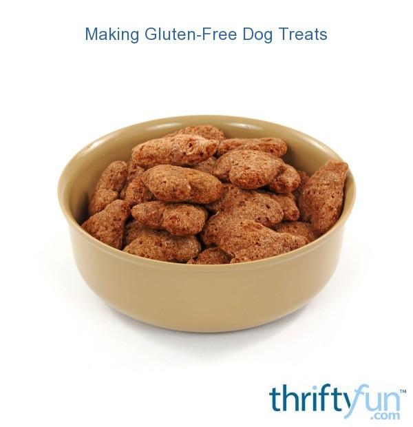 Making Gluten-Free Dog Treats | ThriftyFun