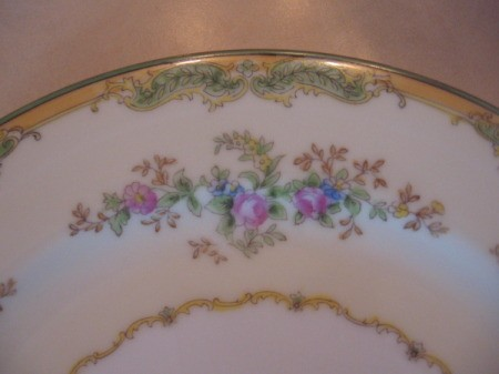 edge of plate