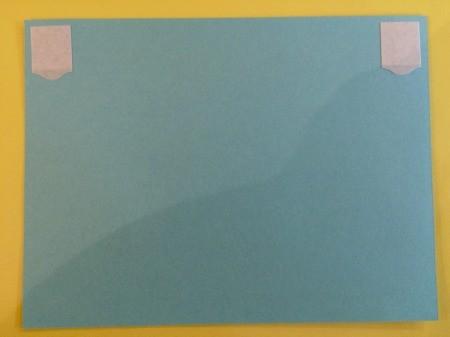 Photo Birthday Invitation - adhesive on insert