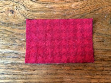 center fabric piece