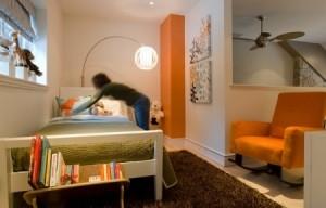 view of room paint scheme