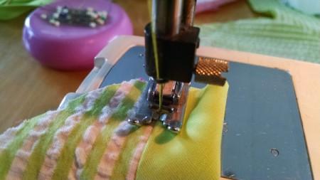 sew tape down