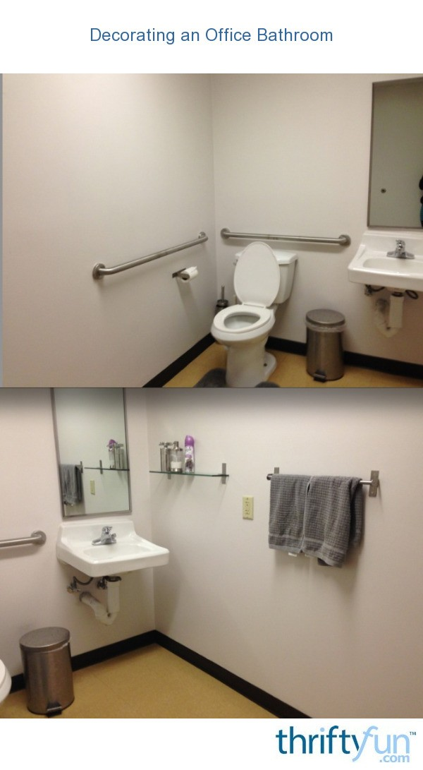 Decorating An Office Bathroom Thriftyfun