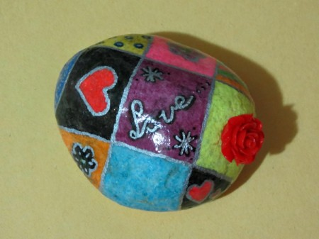 finished paperweight