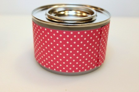 wrapped can