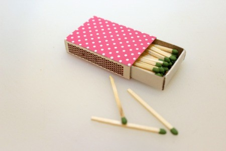 finished matches box