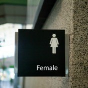 Female Bathroom Sign