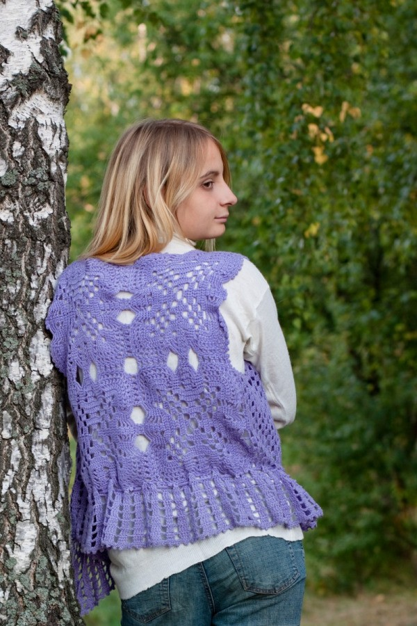 Crochet Patterns For Vest Thriftyfun