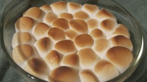 S'mores Dip - Golden brown out of the oven.