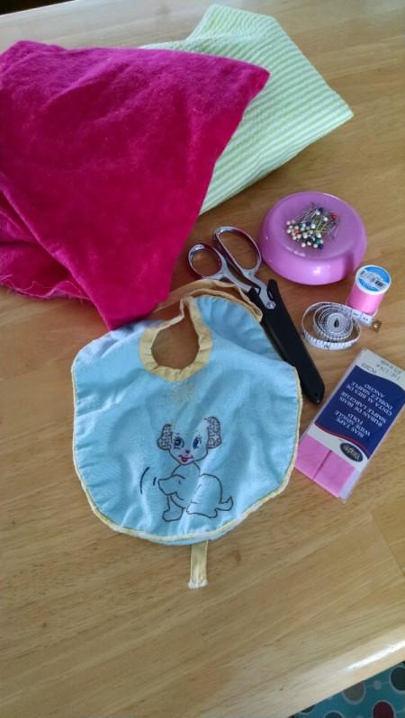 closeup of supplies